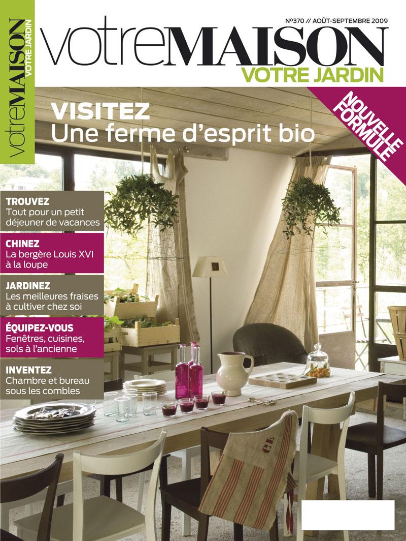 Maison et jardin magazine a luintrieur de cette revue kim for Magazine maison jardin
