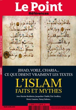 HORS SERIE LE POINT ISLAM - couverture