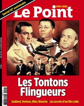 HORS SERIE LE POINT TONTONS FLINGUEURS - couv